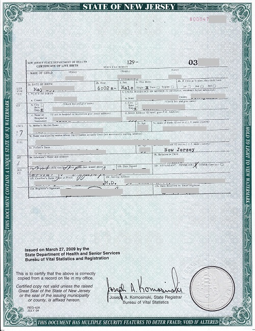 Haitian birth certificate sample images certificate for Haitian birth certificate template